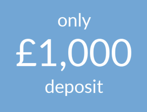 Only £1,000 deposit
